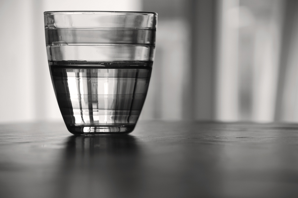 Filter water is good for your body and the environment.