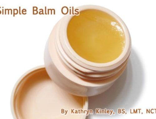 Simple Balm Oils