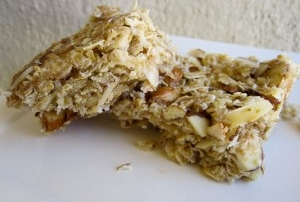 coconut granola bar