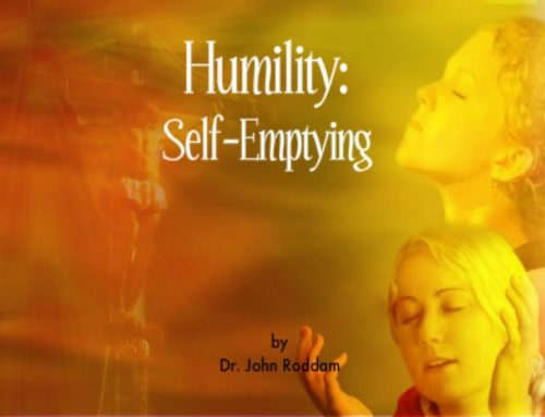 Humility: Self-Emptying