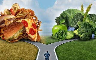 Junk vs Healthy Food