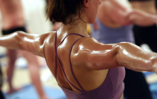 Sweating is an excellent detox that is good for the body, mind and spirit.