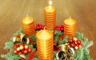The lighting of candles is a religious practice that integrates body, mind and spirit.