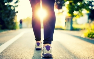 Walking is good for the body, mind and spirit.