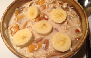 This muesli recipe with tropical fruits is absolutely divine. It certainly good for the body, mind and soul.