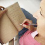 Writing creates a healthier mind.