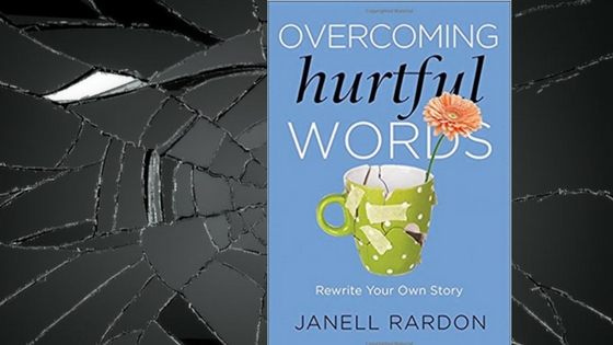 Book cover-overcoming hurtful words